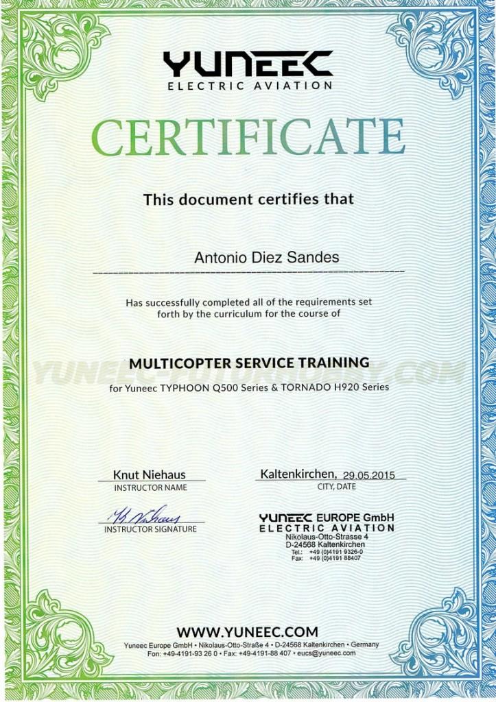 Servicio técnico Yuneec España