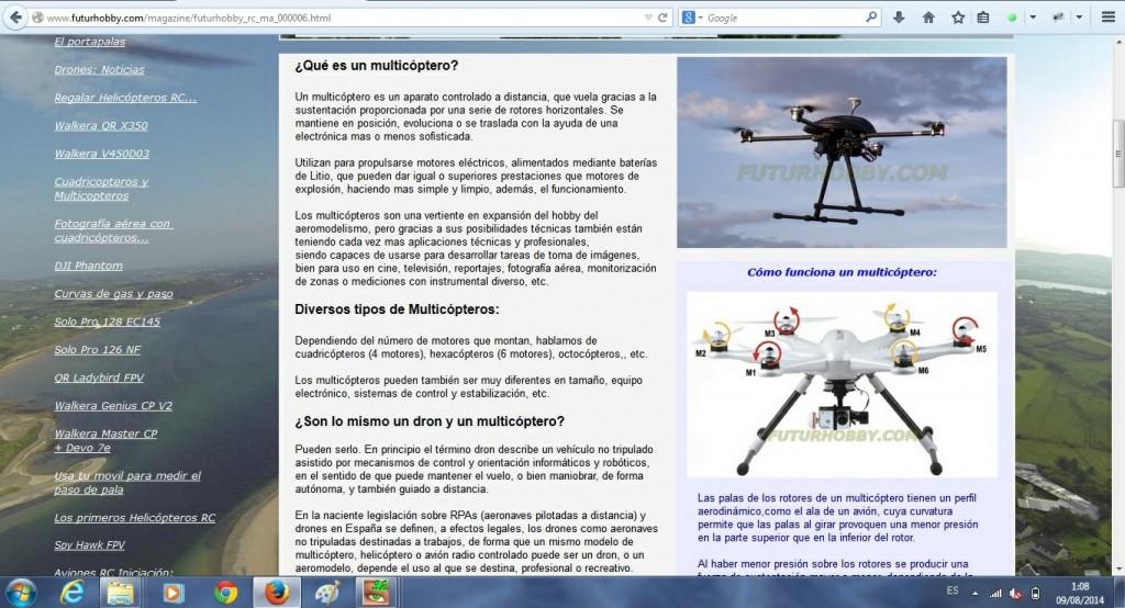 Iniciacion a los Drones