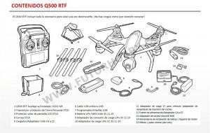 Manual Yuneec Q500 español
