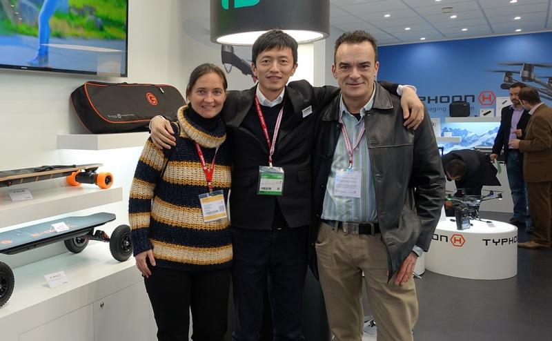 Con An Yan, Gerente de Yuneec Europe