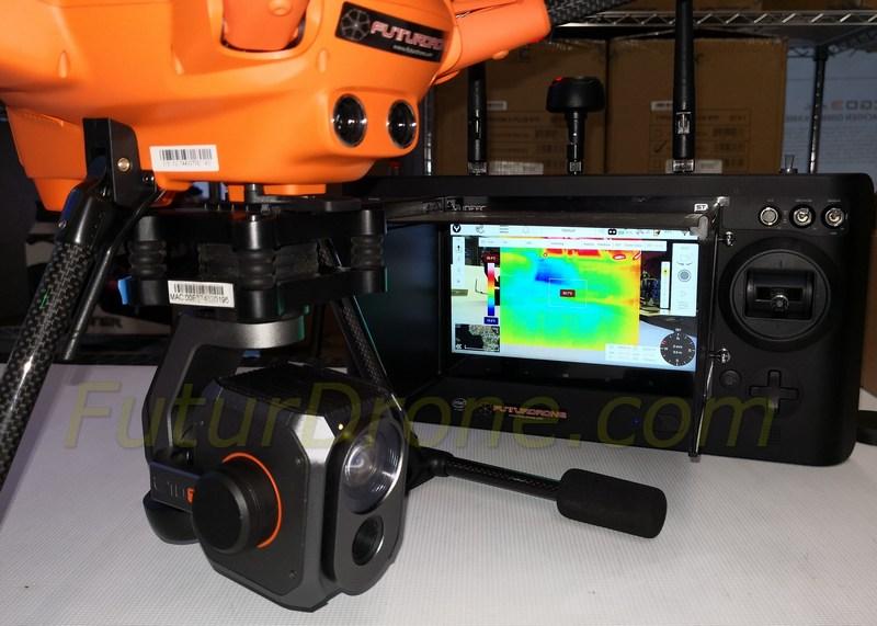 Yuneec E10T cámara térmica para H520
