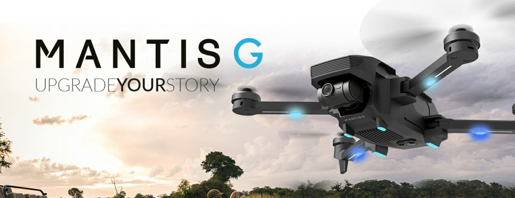 Yuneec Mantis G nuevo Dron plegable