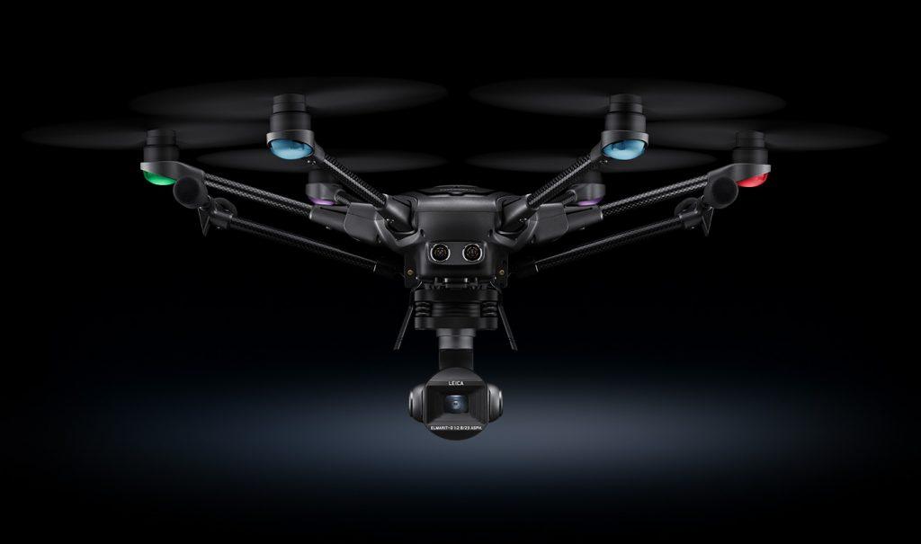 Yuneec Typhoon H3, primer Dron con cámara Leica