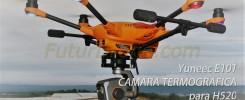YUNEEC E10T CAMARA TERMOGRAFICA H520